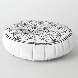 Flower of life  Floor Pillow