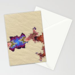 Restful. Mk1 Abstract Art by Tito Stationery Cards
