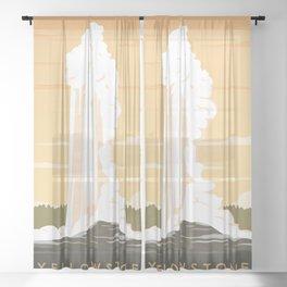 Yellowstone Sheer Curtain