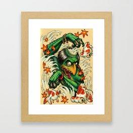 kappa vs demekins Framed Art Print