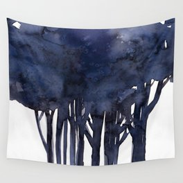 Tree Impressions No.1F by Kathy Morton Stanion Wall Tapestry