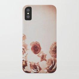 Falling Flower Variation II iPhone Case