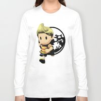 lucas david Long Sleeve T-shirts featuring Lucas by ScoDeluxe