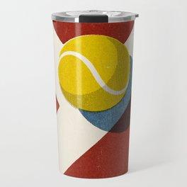 BALLS / Tennis (Clay Court) Travel Mug
