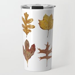 Fall Leaves Painting Travel Mug