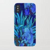 iris iPhone & iPod Cases featuring Iris by lillianhibiscus