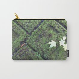 mossy tiles geometric pattern Carry-All Pouch
