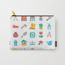 CUTE GARDENING PATTERN Carry-All Pouch