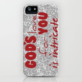 God's Love for You iPhone Case