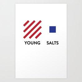 YS Modern Lines Art Print