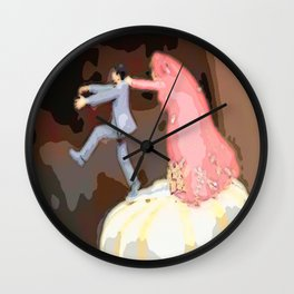 After Valentine's  Wall Clock