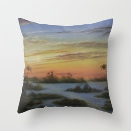 Out of the West Throw Pillow