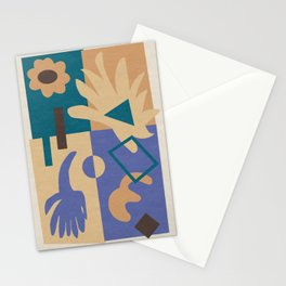 Geometric Abstract 03 Stationery Cards