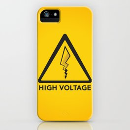 High Voltage iPhone Case