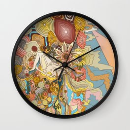 Great Fruits & Blood Oranges Wall Clock
