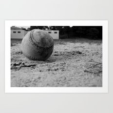 Catch Art Print