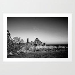 Ruins by the Sea Art Print