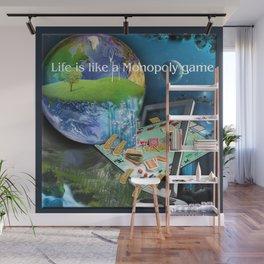 Life is like a Board Game Wall Mural