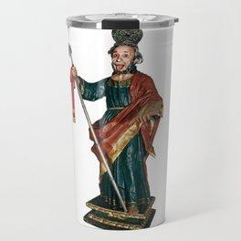 San Judas Tadeo Travel Mug