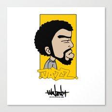 Hain Teny Jazz Canvas Print