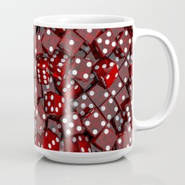 Red dice Coffee Mug