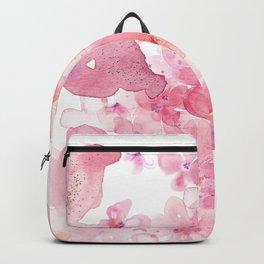 Romantic watercolor floral Backpack