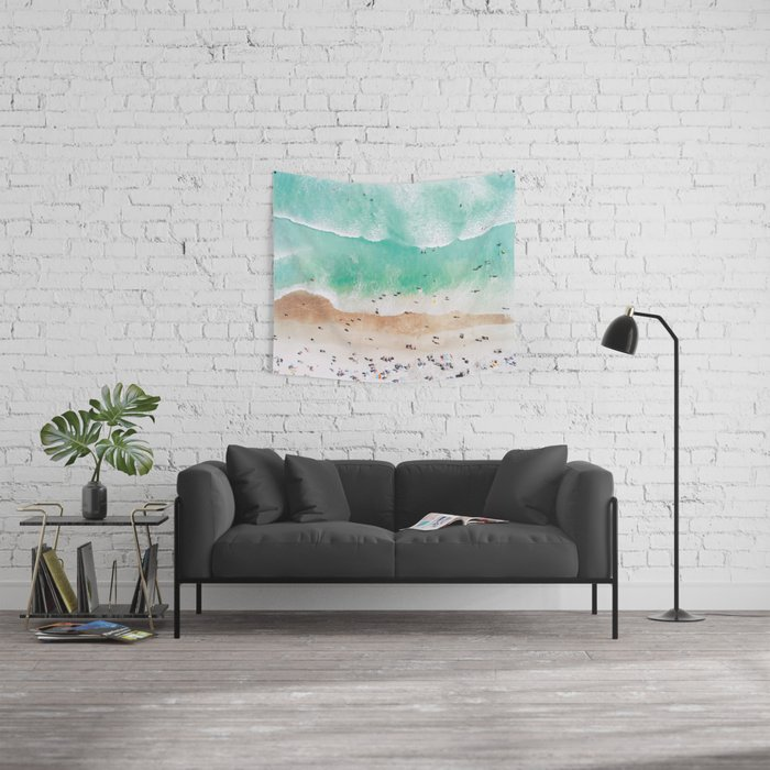 Beach Mood Wall Tapestry