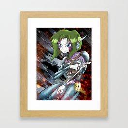 Yoko Framed Art Print