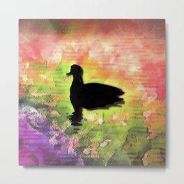 Swimming in colors Metal Print