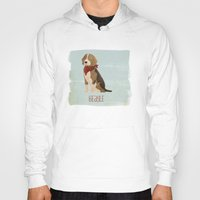 beagle Hoodies featuring Beagle by 52 Dogs