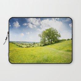 Idyllic Cotswold Summer Landscape Laptop Sleeve
