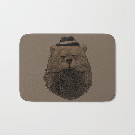 Grizzly Beard Bath Mat