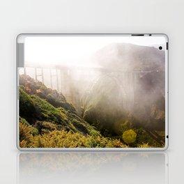 Foggy Day in the Bay Laptop & iPad Skin