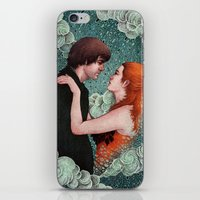 eternal sunshine of the spotless mind iPhone & iPod Skins featuring Eternal Sunshine - Meet Me In Montauk by Angela Rizza