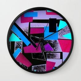 Collage 1 Wall Clock
