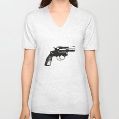 Happiness is a Warm Gun Unisex V-Neck