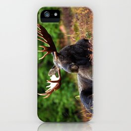 Relax Moose iPhone Case