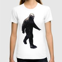 bigfoot T-shirts featuring Bigfoot by Zombie Rust