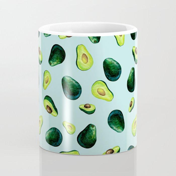 Avocado Pattern Coffee Mug
