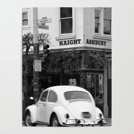 Haight Ashbury Beetle Poster