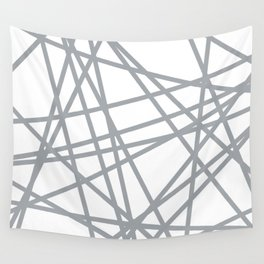 To The Edge Grey Wall Tapestry