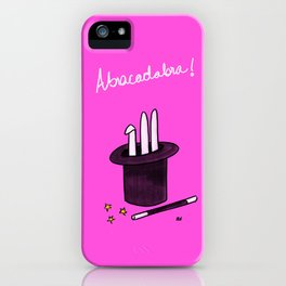 Society6 / Abracadabra ! iPhone Case