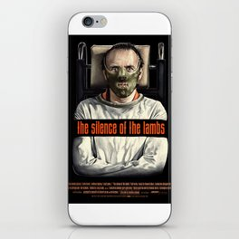 The Silence of The Lambs iPhone Skin