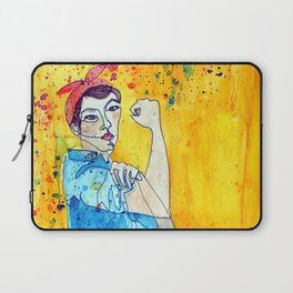 ROSIE THE RIVETER Laptop Sleeve