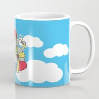 ganesh Mugs featuring Ganesh by thestalewhale