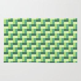Green Organic Pattern Rug
