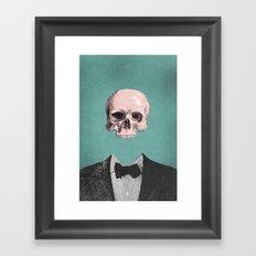Dapper Dead Framed Art Print