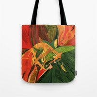 anxiety Tote Bags featuring Anxiety by Nima