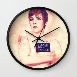 Lena Dunham Splashes Wall Clock