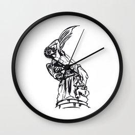 Angel Caido Wall Clock